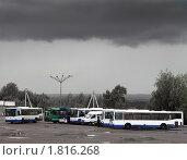 Купить «Уфа, Северный автовокзал», фото № 1816268, снято 30 мая 2008 г. (c) Art Konovalov / Фотобанк Лори