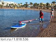 Купить «Тренер по серфингу на море», фото № 1818536, снято 3 мая 2010 г. (c) Бельская (Ненько) Анастасия / Фотобанк Лори