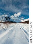 Купить «Путешествие на снегоходе», фото № 1818576, снято 17 апреля 2010 г. (c) Morgenstjerne / Фотобанк Лори