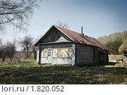 Купить «Старый деревенский дом», фото № 1820052, снято 1 мая 2009 г. (c) Дмитрий Рухленко / Фотобанк Лори