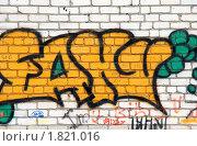 Граффити (2010 год). Редакционное фото, фотограф Сергей Криволапов / Фотобанк Лори