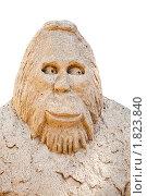 Купить «Фигуры из песка. Снежный человек», фото № 1823840, снято 21 июня 2010 г. (c) Parmenov Pavel / Фотобанк Лори