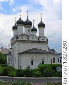 Купить «Храм Покрова Пресвятой Богородицы в Братцево. Москва», эксклюзивное фото № 1827280, снято 23 мая 2010 г. (c) lana1501 / Фотобанк Лори
