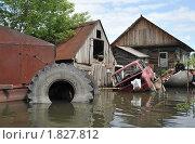 Купить «Наводнение», фото № 1827812, снято 26 июня 2010 г. (c) Free Wind / Фотобанк Лори
