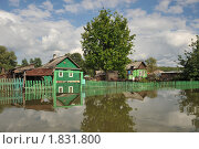 Купить «Наводнение», фото № 1831800, снято 26 июня 2010 г. (c) Free Wind / Фотобанк Лори