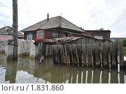 Купить «Наводнение в Барнауле», фото № 1831860, снято 26 июня 2010 г. (c) Free Wind / Фотобанк Лори