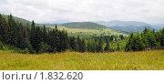 Купить «Горный пейзаж в облачный день», фото № 1832620, снято 28 июня 2010 г. (c) Наталья Быстрая / Фотобанк Лори