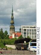 Купить «Вид на старую Ригу», фото № 1835432, снято 30 мая 2010 г. (c) Андрей Лабутин / Фотобанк Лори
