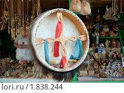 Купить «Бубен шамана. Сувениры Горного Алтая», фото № 1838244, снято 19 июня 2010 г. (c) Chere / Фотобанк Лори