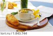 Суп с макаронами. Стоковое фото, фотограф Фадеев Антон / Фотобанк Лори