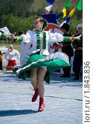 Купить «Девушка в русском  наряде», фото № 1843836, снято 17 июля 2010 г. (c) Александр Подшивалов / Фотобанк Лори