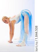 Купить «Репетиция балерины», фото № 1844508, снято 19 мая 2008 г. (c) Михаил Лукьянов / Фотобанк Лори