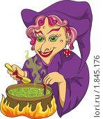 Купить «Ведьма и зелье», иллюстрация № 1845176 (c) Татьяна Смирнова / Фотобанк Лори
