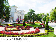 Купить «Кисловодск, лето на Курортном бульваре», фото № 1845520, снято 8 июля 2010 г. (c) Анна Мартынова / Фотобанк Лори