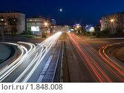 Купить «Ночные улицы города Улан-Удэ», фото № 1848008, снято 18 июля 2010 г. (c) Антон Железняков / Фотобанк Лори