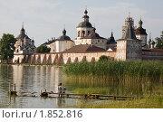 Купить «Кирилло-Белозерский монастырь. Вид с Сиверского озера», фото № 1852816, снято 16 июля 2010 г. (c) Igor Lijashkov / Фотобанк Лори