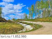 Загородная дорога. Стоковое фото, фотограф Dezel / Фотобанк Лори