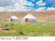 Купить «Казахская юрта», фото № 1856584, снято 27 июня 2010 г. (c) hunta / Фотобанк Лори