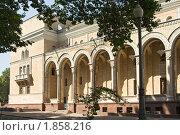 Купить «Ташкент. Здание театра имени Алишера Навои», фото № 1858216, снято 21 августа 2009 г. (c) Татьяна Нафикова / Фотобанк Лори