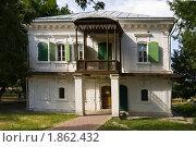 Дом Жученковых в Старочеркасске (2010 год). Стоковое фото, фотограф Борис Панасюк / Фотобанк Лори