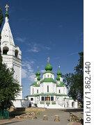 Воскресенский собор, колокольня и Майдан в Старочеркасске (2010 год). Стоковое фото, фотограф Борис Панасюк / Фотобанк Лори