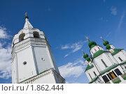 Ракурс Воскресенского собора и колокольни в Старочеркасске (2010 год). Стоковое фото, фотограф Борис Панасюк / Фотобанк Лори