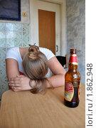Купить «Перебрала...», фото № 1862948, снято 25 июля 2010 г. (c) Константин Бредников / Фотобанк Лори