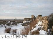 Купить «Копорье зимой», фото № 1866876, снято 1 декабря 2007 г. (c) Елена Калинина / Фотобанк Лори