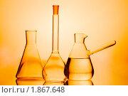 Купить «Лабораторные колбы», фото № 1867648, снято 25 марта 2008 г. (c) Константин Тавров / Фотобанк Лори