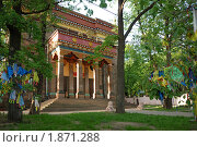 Купить «Буддийский монастырь - дацан Гунзэчойнэй. Санкт-Петербург», фото № 1871288, снято 21 мая 2010 г. (c) Дмитрий Яковлев / Фотобанк Лори