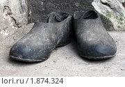 Галоши. Стоковое фото, фотограф Николай Комаровский / Фотобанк Лори