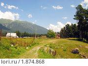 Купить «Летний пейзаж», фото № 1874868, снято 11 июля 2010 г. (c) Анна Мартынова / Фотобанк Лори