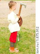 Купить «Выборгский рыцарский турнир молодой рыцарь», фото № 1875912, снято 31 июля 2010 г. (c) Алексей Ширманов / Фотобанк Лори