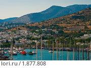 Купить «Гавань в Бодруме, Турция», фото № 1877808, снято 27 июня 2010 г. (c) Анна Лурье / Фотобанк Лори