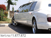 Купить «Свадебный лимузин», фото № 1877872, снято 23 июля 2010 г. (c) Карелин Д.А. / Фотобанк Лори