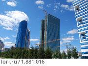 Сооружения, г. Астана. Стоковое фото, фотограф Денис Макатаев / Фотобанк Лори