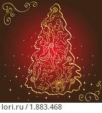 Купить «Рождественская ель», иллюстрация № 1883468 (c) Татьяна Смирнова / Фотобанк Лори
