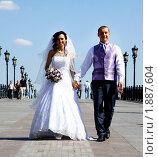 Купить «Жених и невеста», фото № 1887604, снято 14 июля 2010 г. (c) Андрей Аркуша / Фотобанк Лори