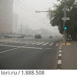 Дым в Москве в августе 2010. Редакционное фото, фотограф Молчанов Сергей / Фотобанк Лори