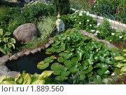 Купить «Элементы ландшафтного дизайна», эксклюзивное фото № 1889560, снято 24 июля 2010 г. (c) lana1501 / Фотобанк Лори