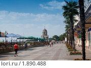 Купить «Крым.Набережная Ялты», фото № 1890488, снято 28 июля 2010 г. (c) Aleksander Kaasik / Фотобанк Лори