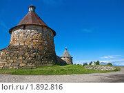 Башни Соловецкого монастыря (2008 год). Редакционное фото, фотограф Вячеслав Копотий / Фотобанк Лори