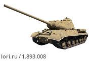 Купить «Тяжелый танк ИС-1 (1943)», фото № 1893008, снято 31 июля 2010 г. (c) Онищенко Виктор / Фотобанк Лори