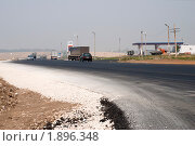 Вид на междугородную автотрассу. Стоковое фото, фотограф Олег Тыщенко / Фотобанк Лори
