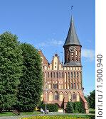 Купить «Вид на башню собора. Калининград», фото № 1900940, снято 5 августа 2010 г. (c) Наталья Лабуз / Фотобанк Лори
