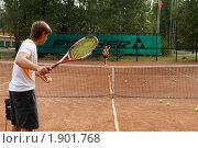 Купить «Теннис», эксклюзивное фото № 1901768, снято 28 июля 2010 г. (c) Дмитрий Неумоин / Фотобанк Лори