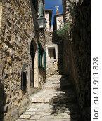 Черногория, Ульцин, старый город (2010 год). Стоковое фото, фотограф Верещагина Дарья / Фотобанк Лори