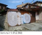Традиционные болгарские скатерти (2010 год). Стоковое фото, фотограф Вишнякова Татьяна / Фотобанк Лори