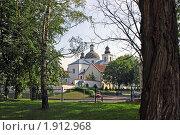 Женский монастырь Рождества Богородицы в Гродно (2010 год). Стоковое фото, фотограф Олег Фафурин / Фотобанк Лори