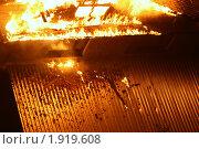 Купить «Дом в огне», фото № 1919608, снято 11 сентября 2007 г. (c) Маргарита Герм / Фотобанк Лори